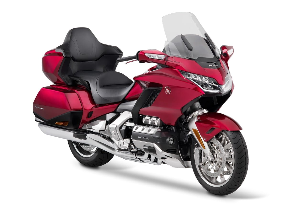 Gold Wing Tour DCT motorcycle from Honda for 2020.