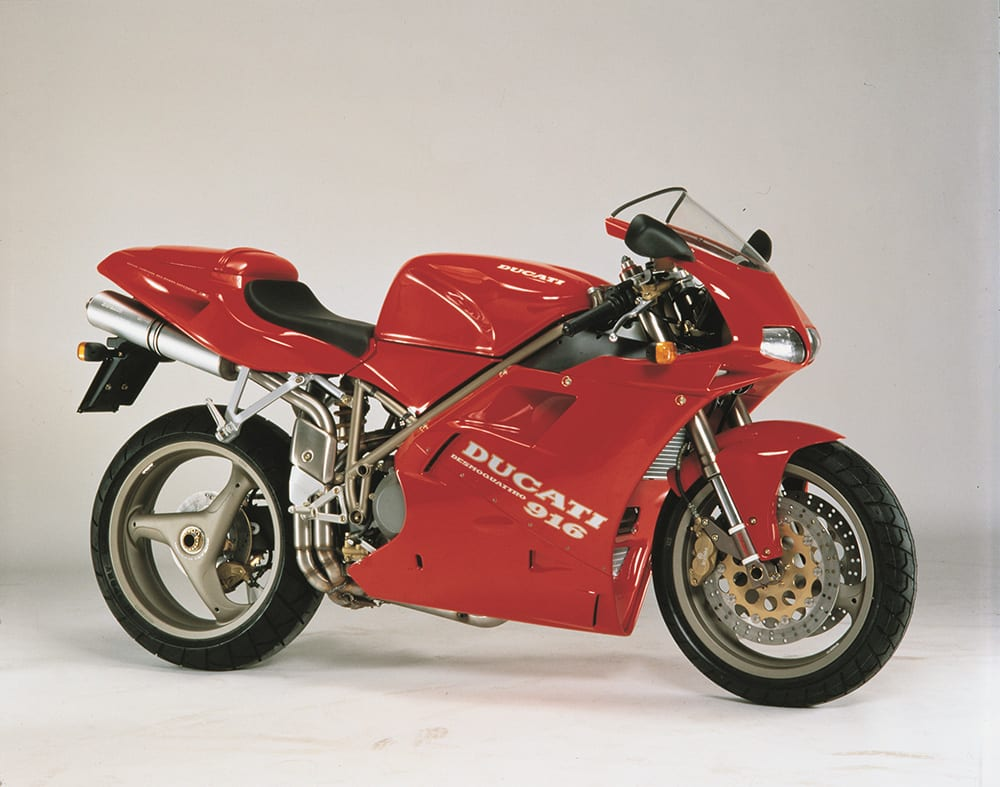 The Ducati 916 is one of the truly iconic motorcycles. An original superbike, if you will.