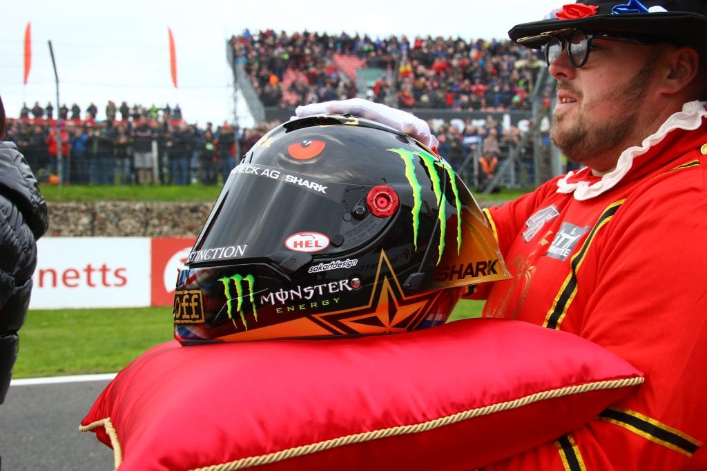 Shark helmets created a special livery for Scott Redding when he became the 2019 British Superbike Champion on Sunday.