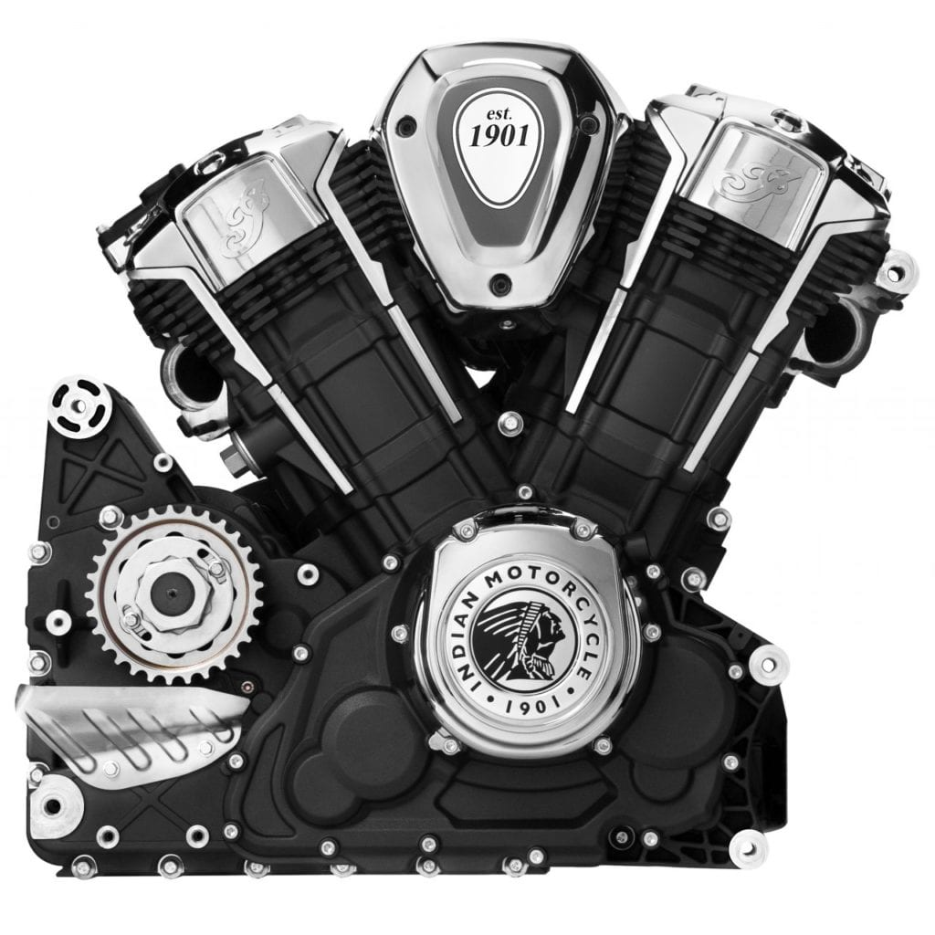 Indian Challenger 1769cc liquid cooled V-Twin engine