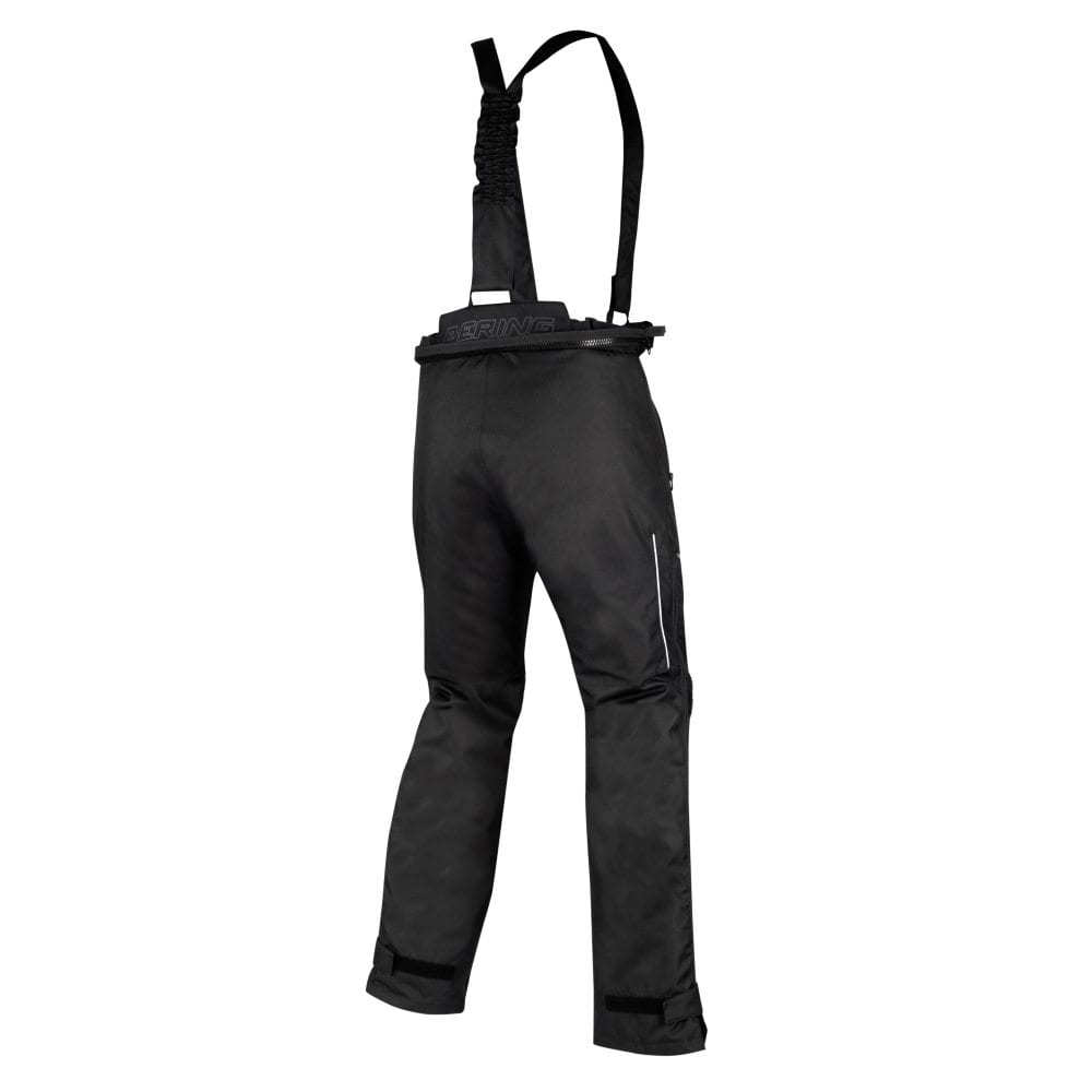 Rear view of the Bering Dusty motorcycle winter trousers.