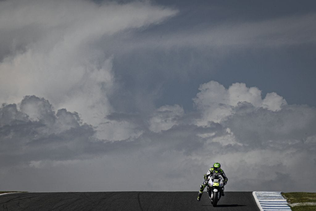 Cal Crutchlow was third quickest on the first day in Australia, setting out his stall early at the Australian motorcycle MotoGP round.