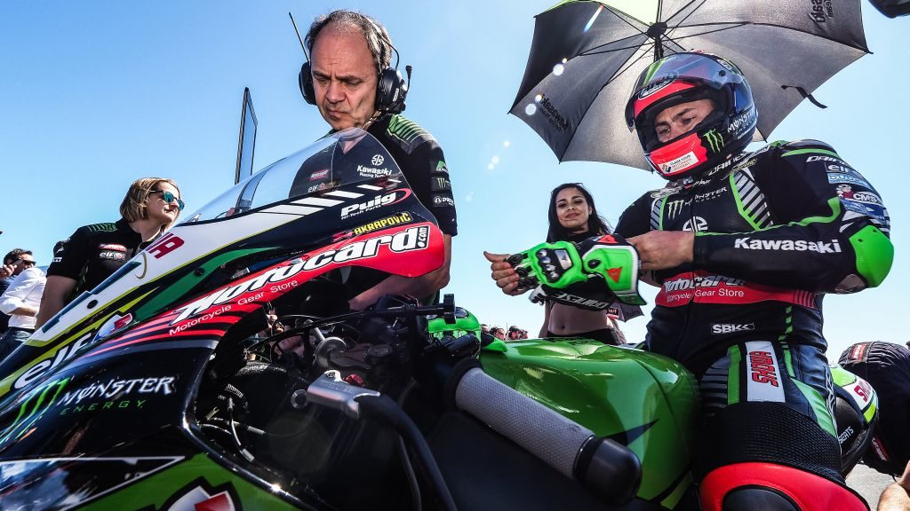 Leon Haslam's time on the factory green bike will stop at the end of this season.