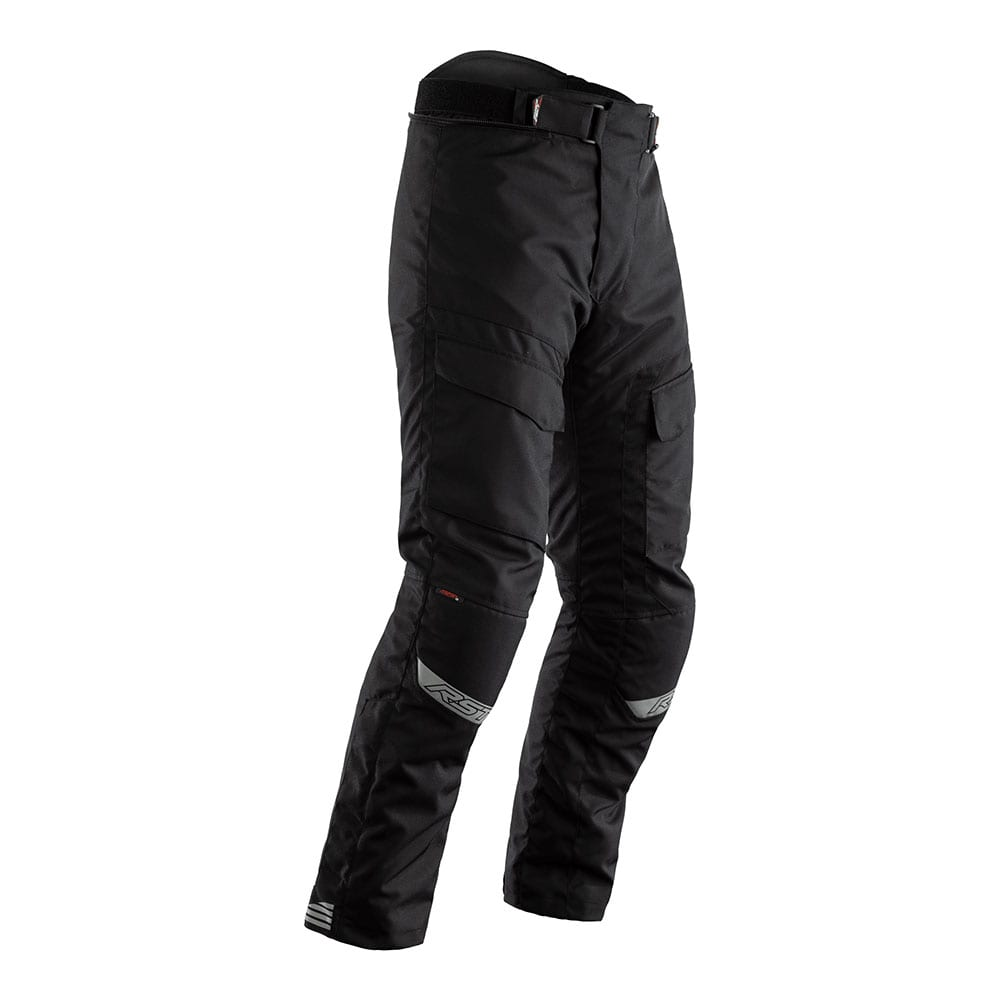 Front view of RST Alpha motorcycle winter trouser.