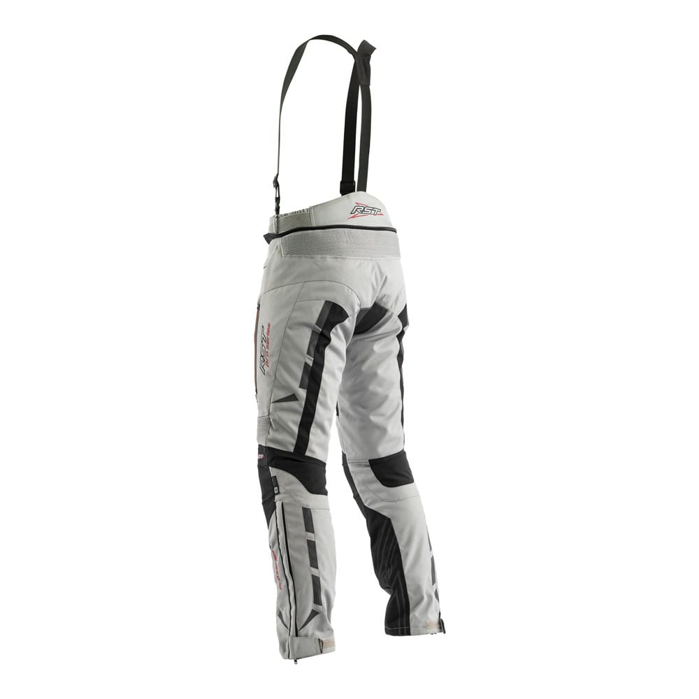 Rear view of RST Pro Series Paragon V motorcycle winter trousers.