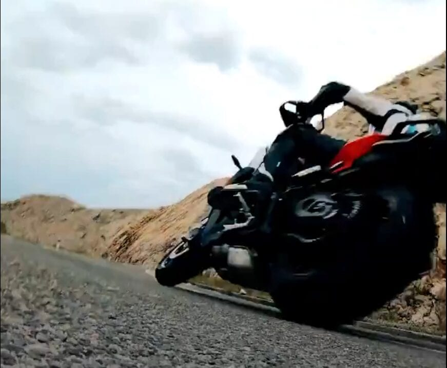 BMW F 850XR teaser video. Hints at new sport tourer motorcycle from the German bike manufacturer.