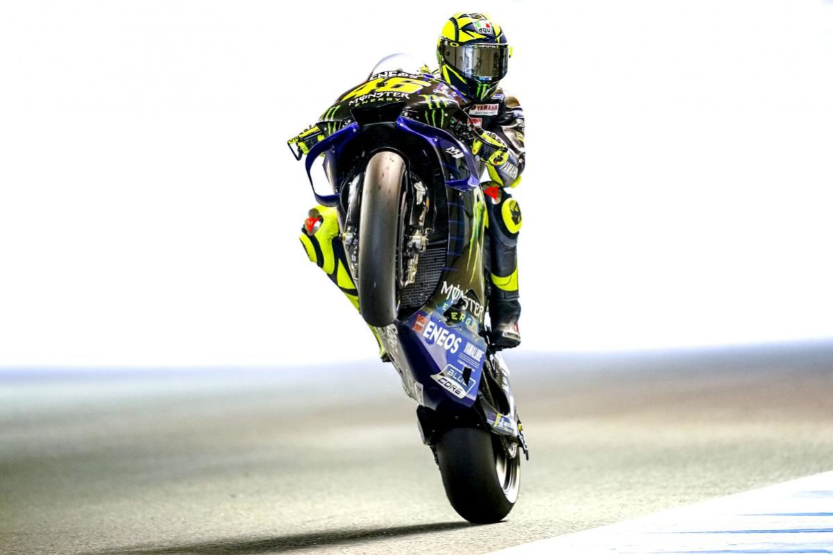 Nobody has come close to Valentino Rossi's record for MotoGP starts. He's a true motorcycle racing legend.