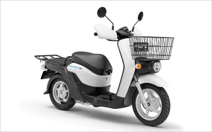 Honda's Benly E electric scooter.