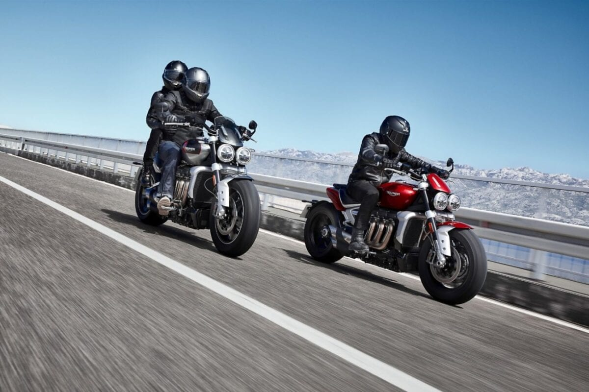 Both version of the 2020 Triumph Rocket 3 as they appear for next year in the British firm's model range.