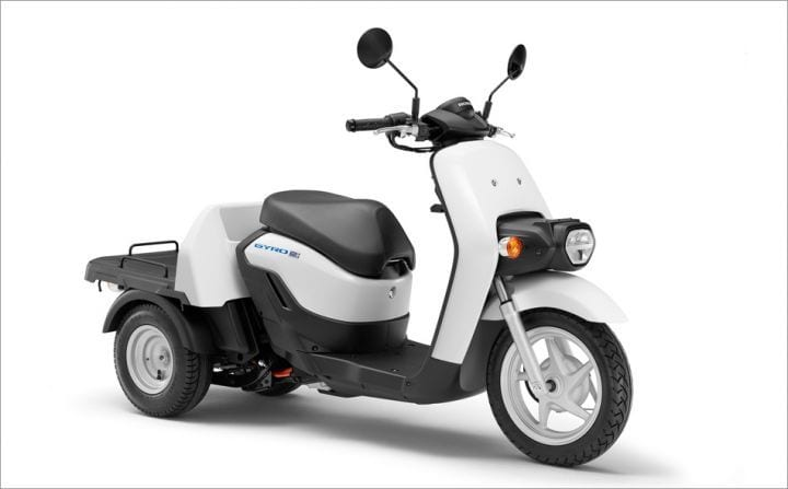 Honda's Gyro E electric scooter.