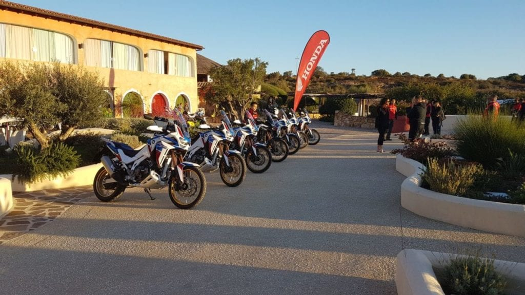 Honda's Africa Twin Adventure Sports