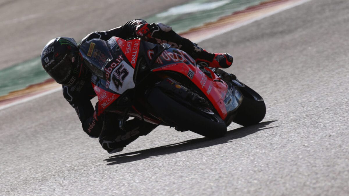 Scott Redding was fastest on day two of testing at Aragon.