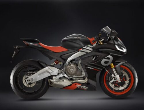 Aprilia's working on a small capacity sportbike to compete with KTM's 390 Duke and RC