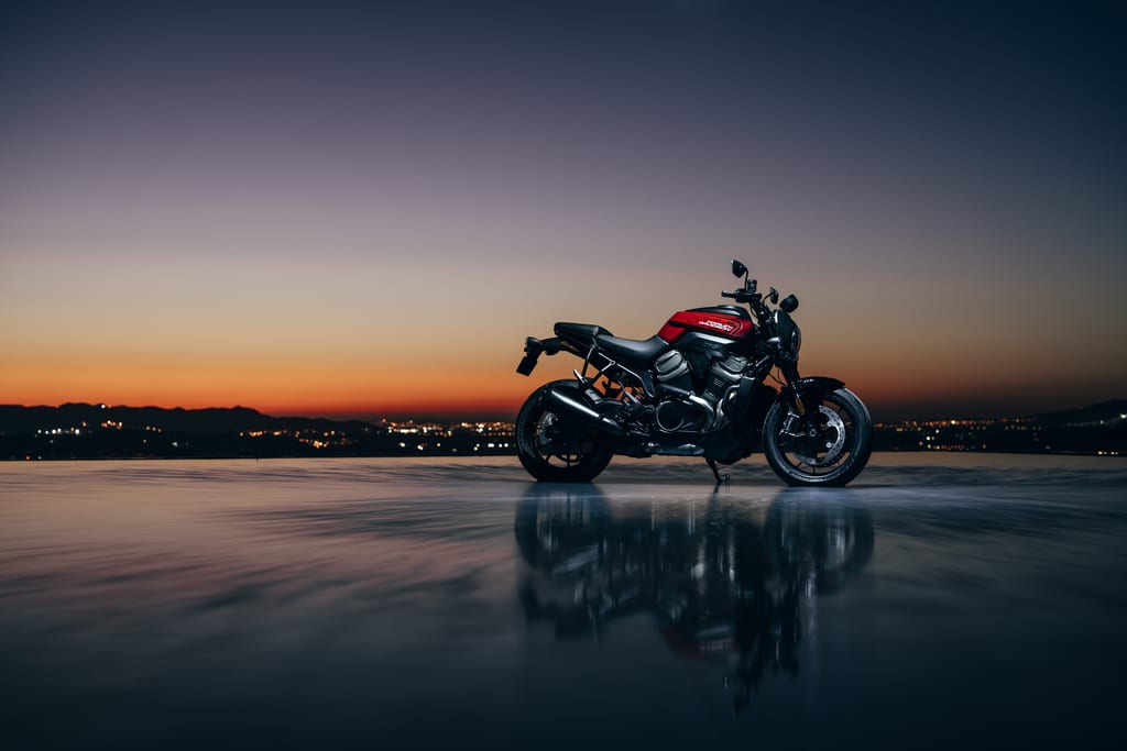 It's all a bit mean-and-moody around the launch of the Bronx 975 motorcycle...