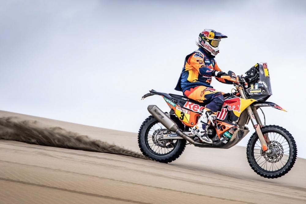 Toby Price at the 2019 Dakar Rally