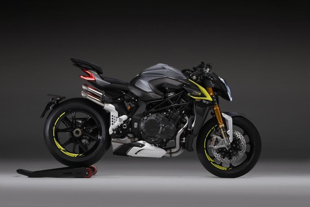 The Brutale 1000RR from MV Agusta isn't exactly a subtle motorcycle, is it?