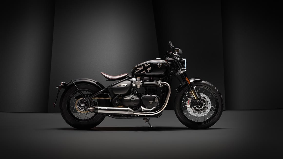 Only 750 TFC Bobbers will be made. So this is going to be a pretty exclusive motorcycle from Triumph.
