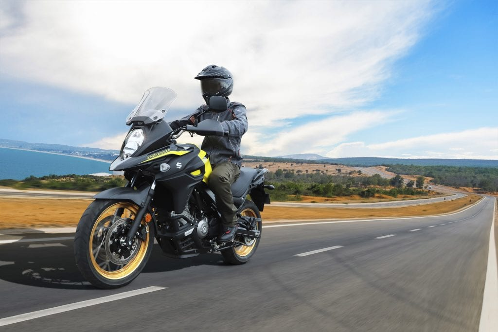 The 650 V-Strom is included in the Winter pricing campaign from Suzuki motorcycles.