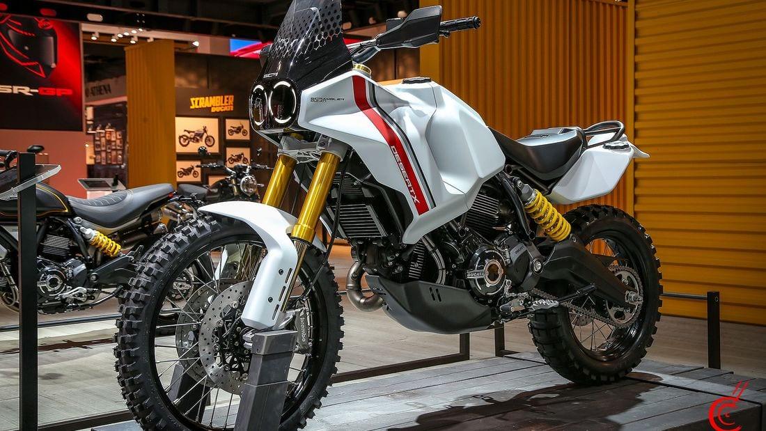 Ducati Scrambler Desert X 1100 Concept. Revealed at EICMA.