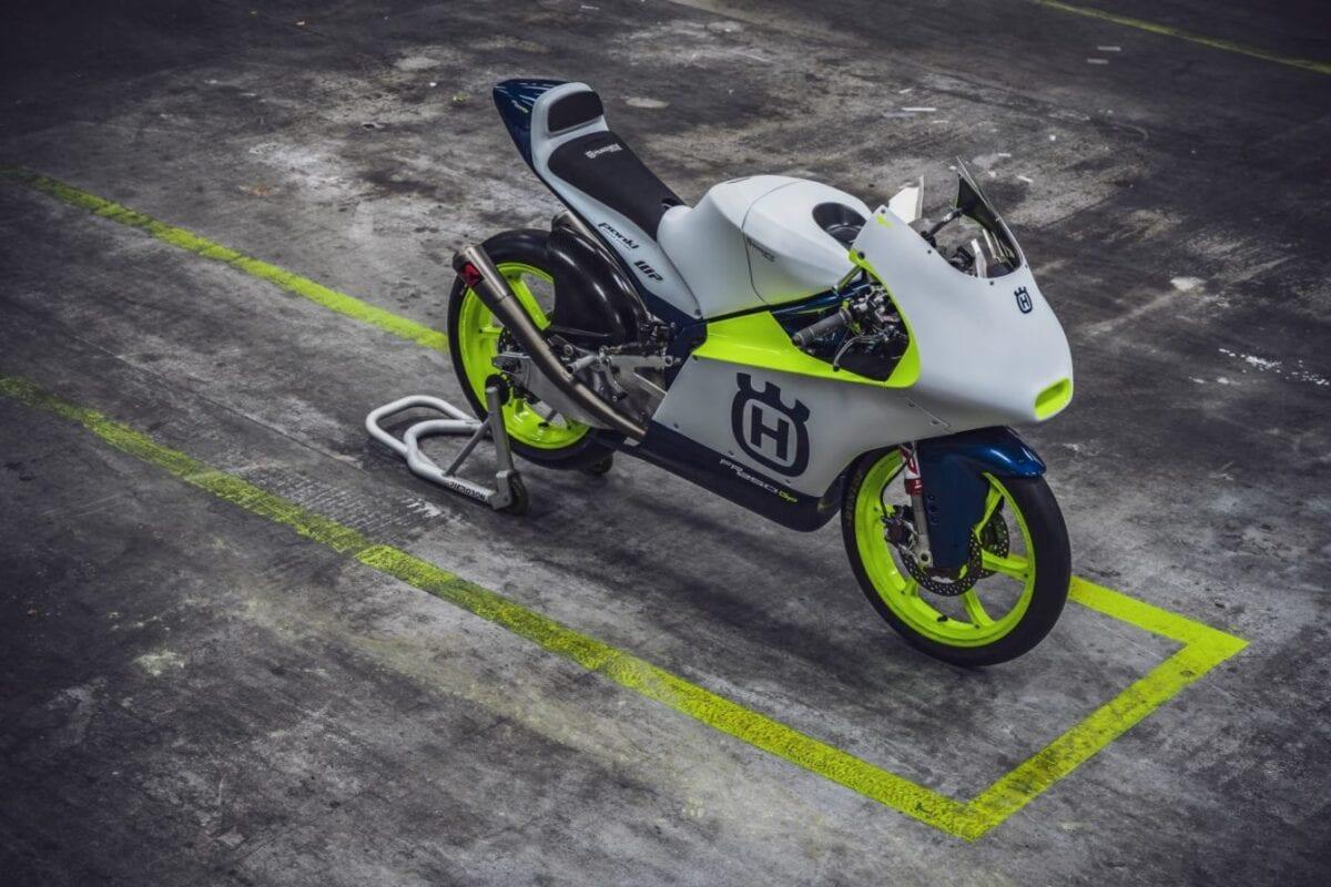 Husqvarna's Moto 3 Race Bike