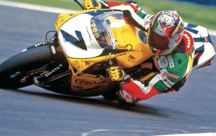 Frankie Chili racing for Ducati