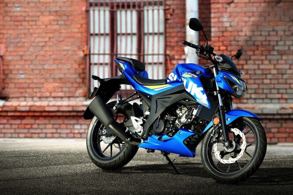 There's also money off the Suzuki GSX-S125 motorbike until the end of January.