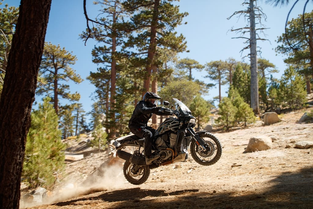 The Harley-Davidson Pan America is a bruising 1250cc Adventure bike from the Milwaukee brand and will be on sale in 2020. Nope, we never thought we'd really be writing this sort of thing, either...
