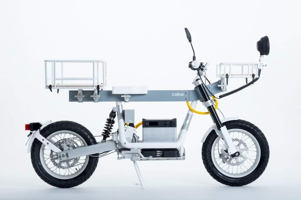 Cake's ELECTRIC utility vehicle; the Ösa