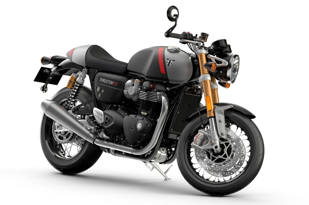 Pretty and kick-ass. These Thruxton RS motorcycles won't be around for long. Get building lots of them, Triumph.