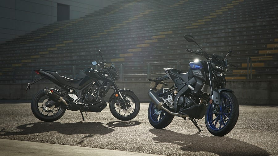 Yamaha announce new SPORT PACKS for MT-125 and MT-03.