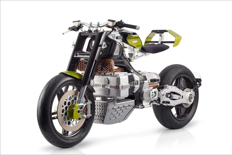BST HyperTEK: ELECTRIC motorcycle of the FUTURE designed by Pierre Terblanche (the man who brought us the Ducati 999).