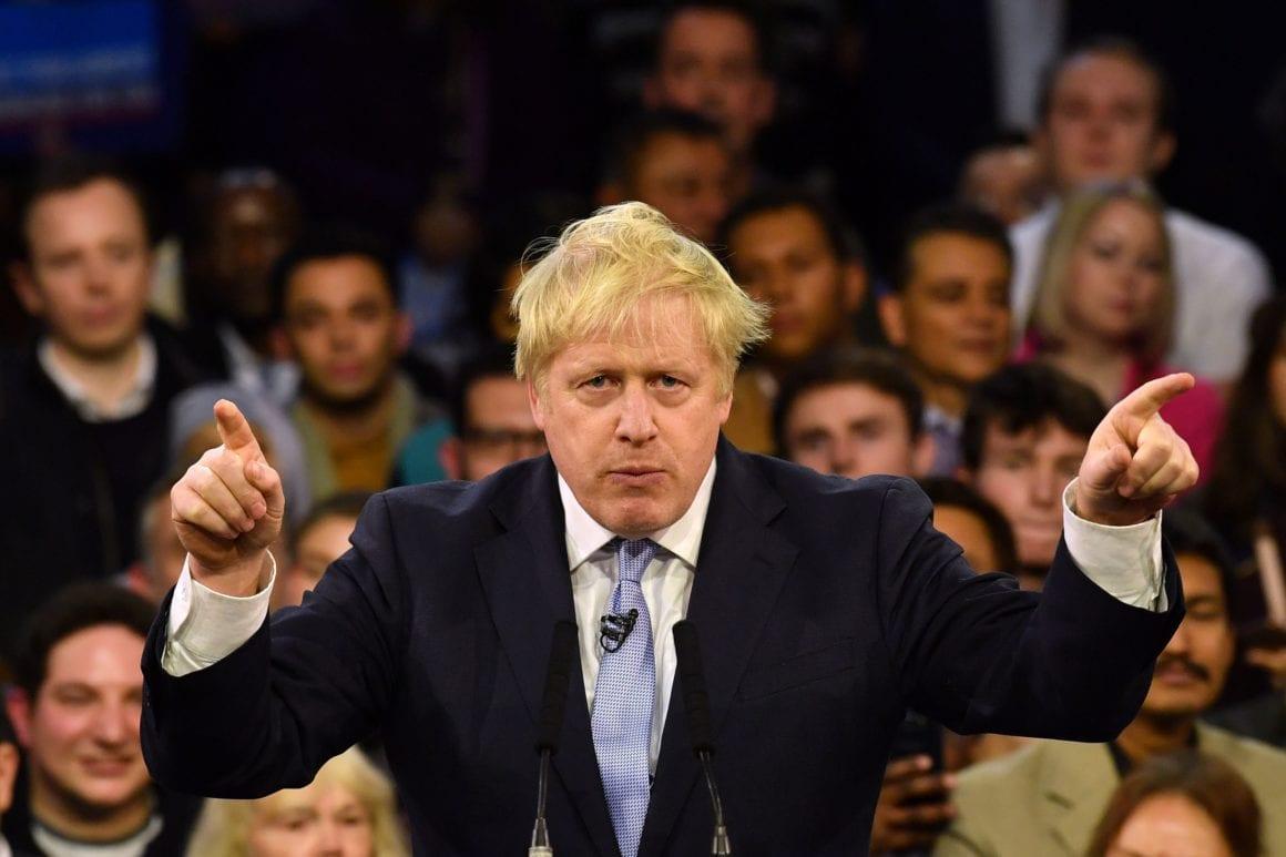 Boris Johnson and motocross