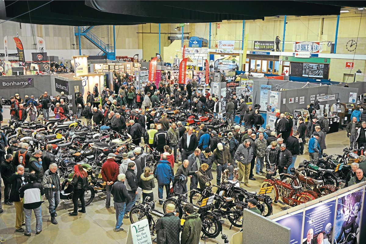 It's nearly time for the 40th Bristol Classic MotorCycle Show. Bag your tickets now.