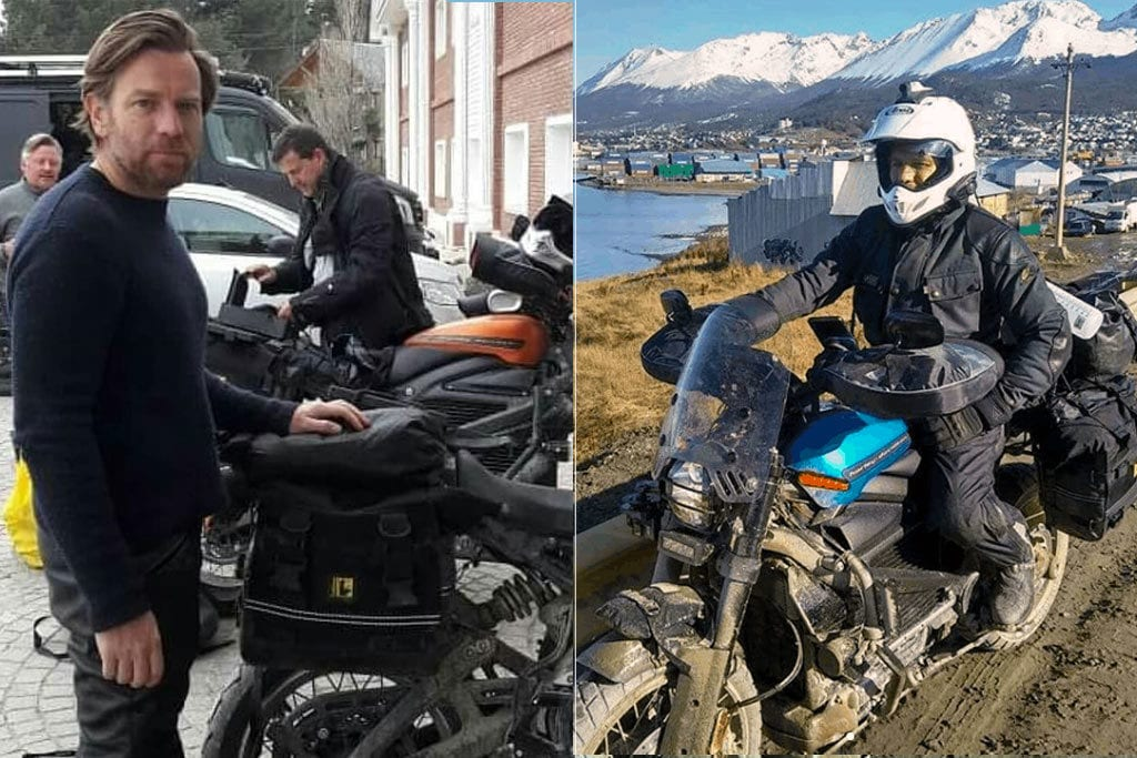 Ewan McGregor and Charley Boorman finish filming for the Long Way Up