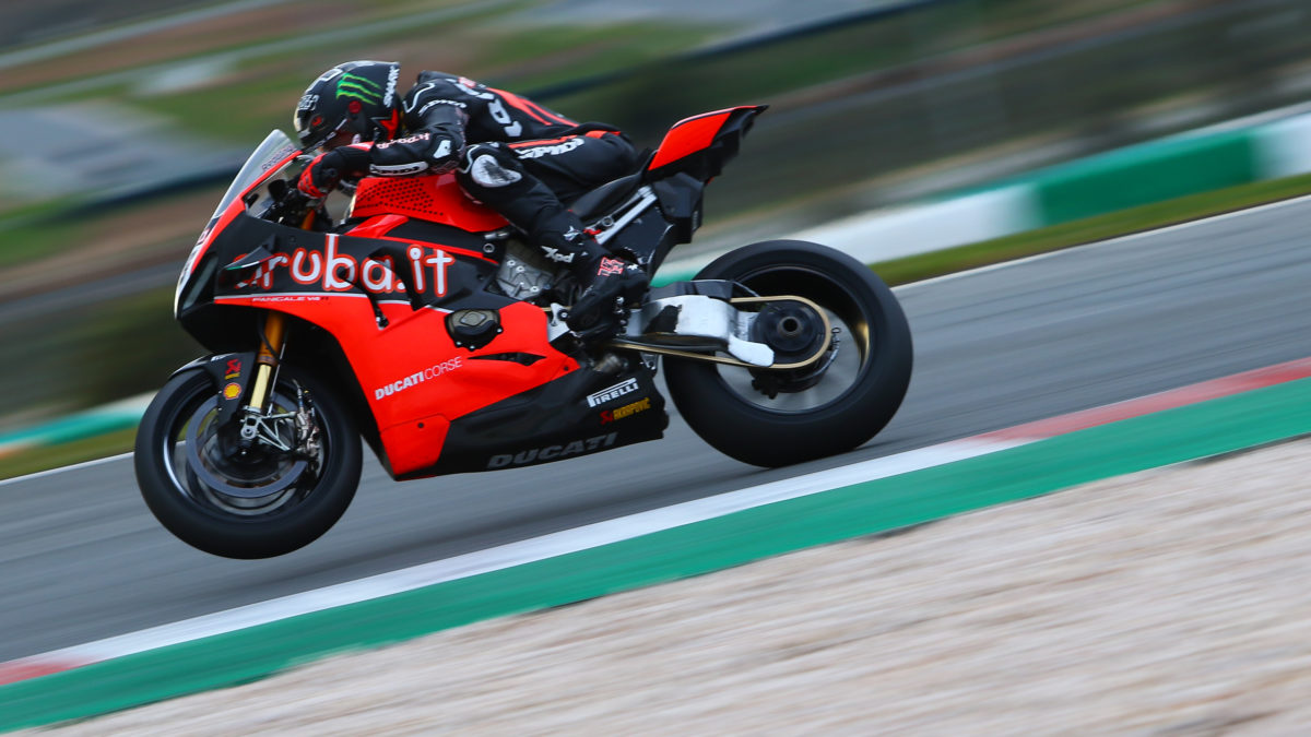 WSB: Scott Redding FASTEST at Portimao after first day of TESTING.