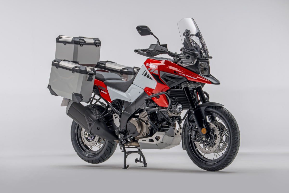 GET READY FOR ADVENTURE: Suzuki announces THREE accessory packs for the V-Strom 1050.