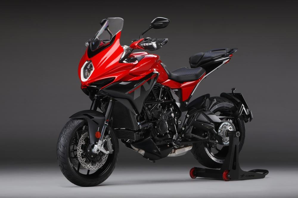 "MV Agusta's President confirms ""an adventure bike is coming""."