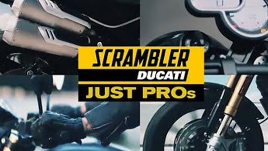 Our video story showed the names of the new Scrambler variant.