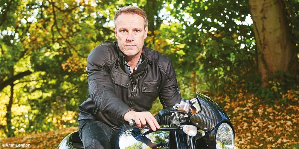 Stuart Garner, boss of Norton Motorcycles.