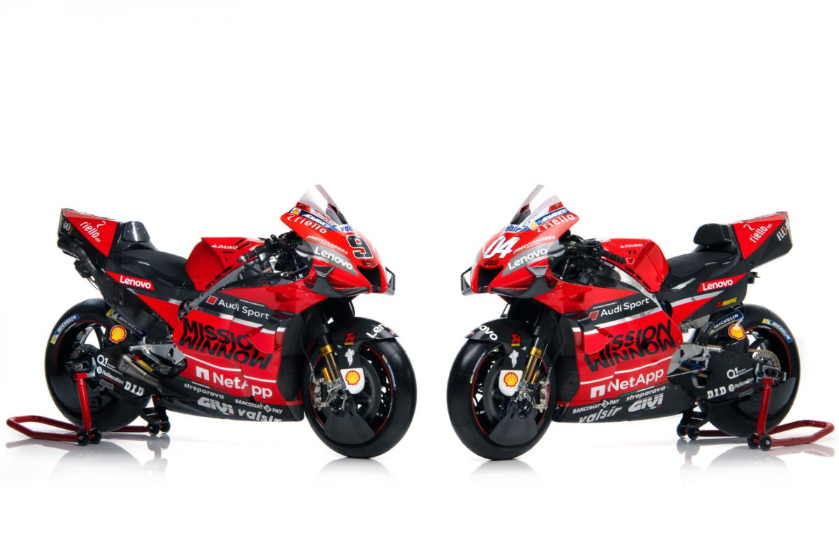 MotoGP: Ducati unveils its Desmosedici GP race bike for 2020. MEGA gallery and TECH SPECS.