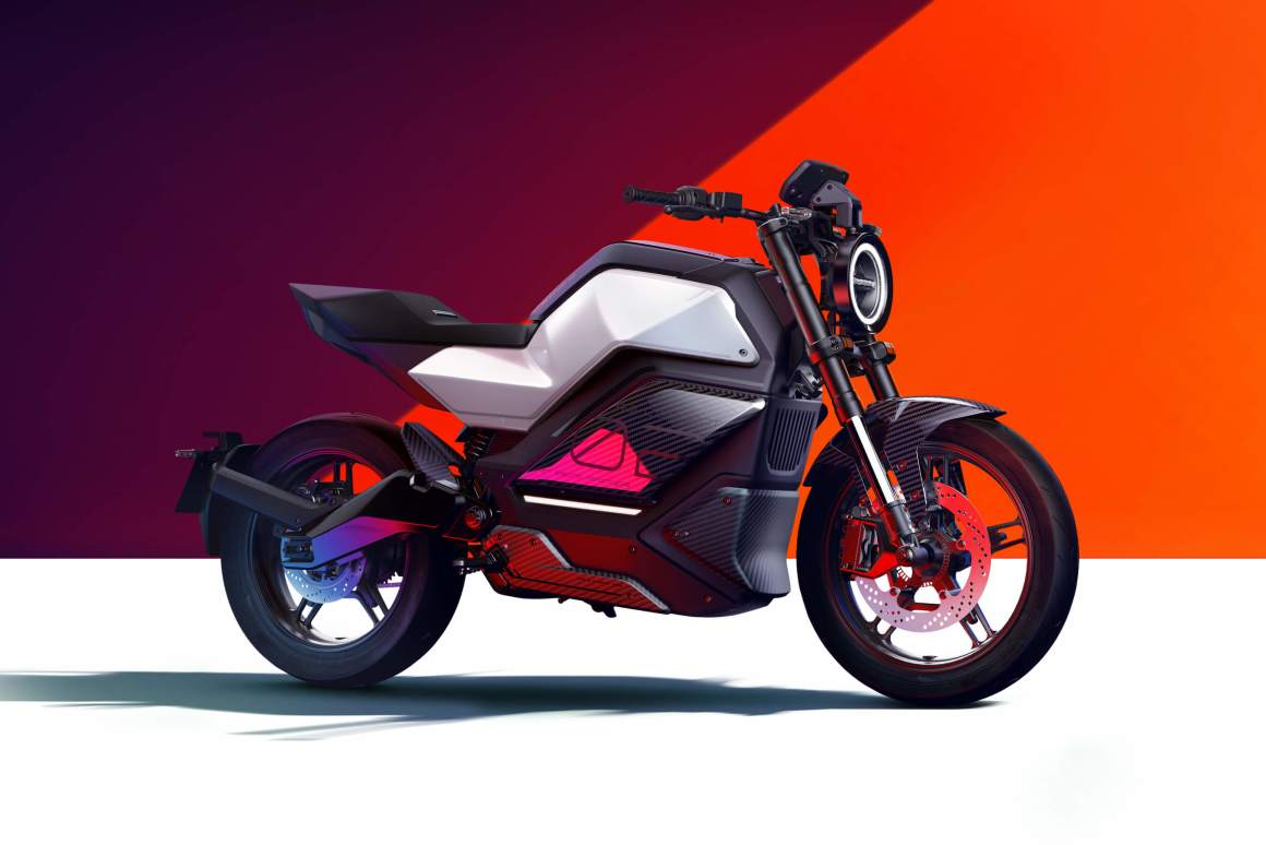 NIU's 100mph ELECTRIC urban commuter. The RQi-GT.