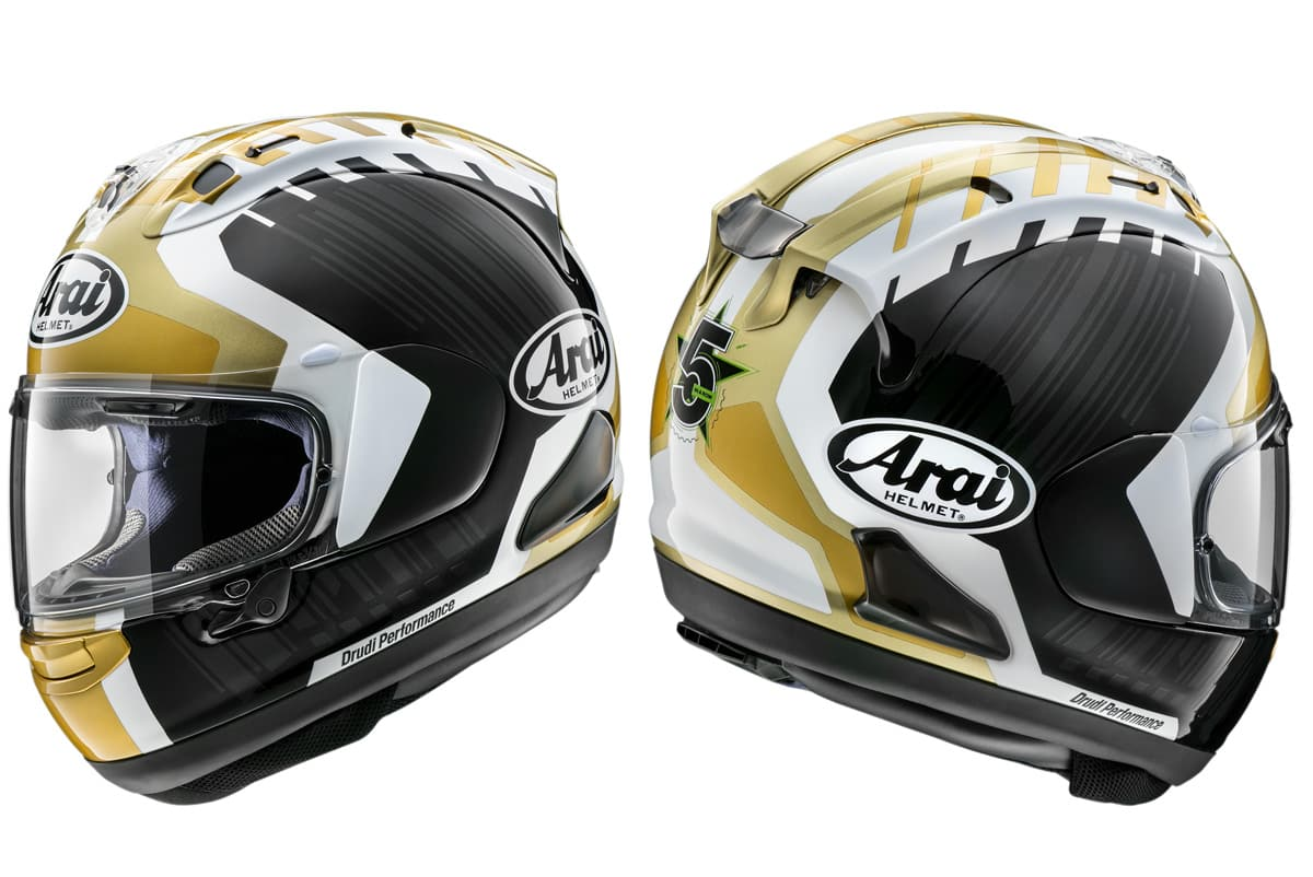 Arai releases replica Jonathan Rea RX-7V helmet. And YOU can BUY one.