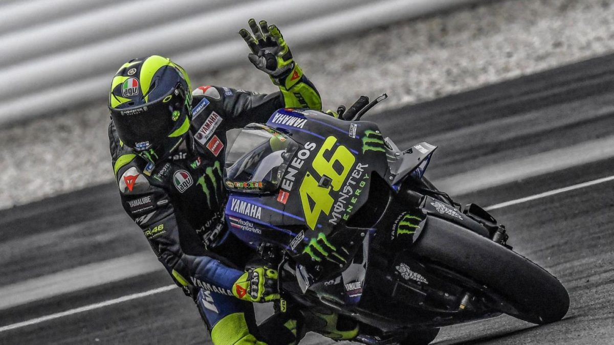If he's not fast enough by the middle of the season, Valentino Rossi says he'll finish at the end of the year.