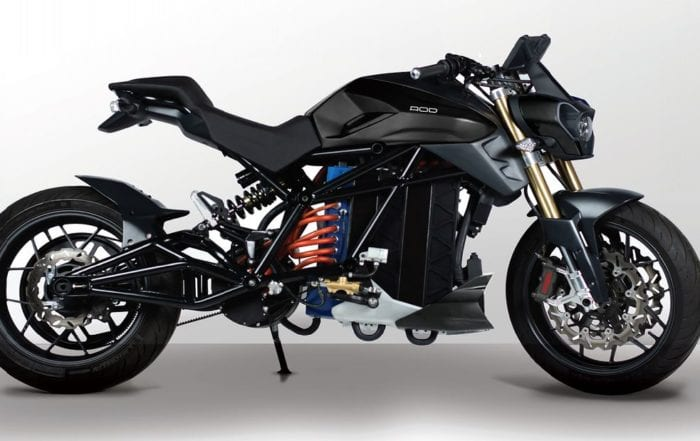 Voltu's just revealed its newest electric motorcycle – and it's based on its Moto X prototype from a few years ago.