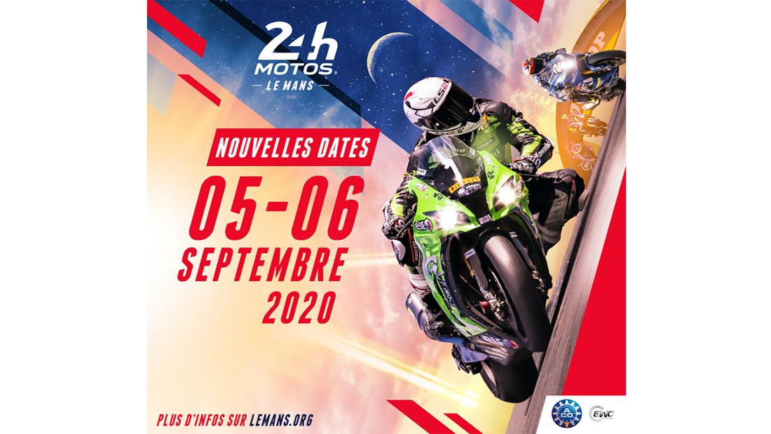 New dates for the Le Mans 24 hour race in France. Another sporting change due to the Coronavirus outbreak.