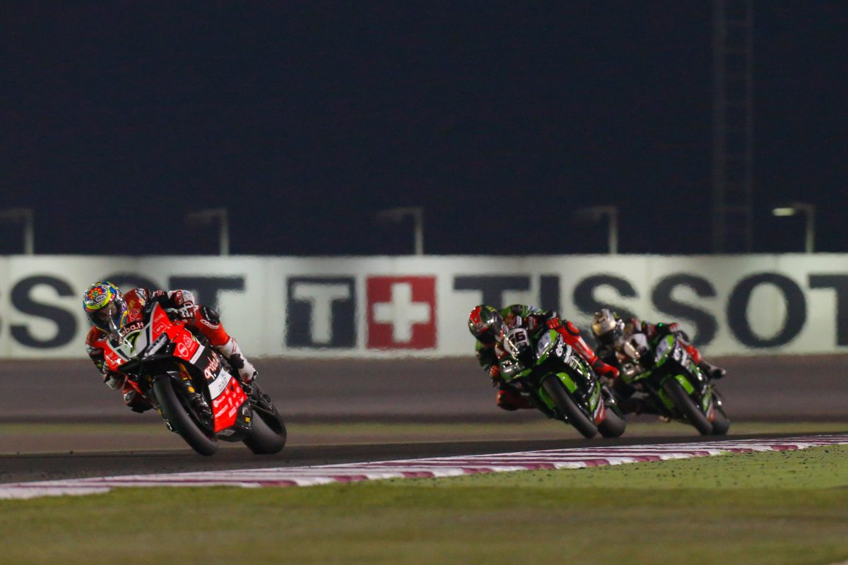 WSB: Now THIS has been postponed too. Round Two of the World Superbike Championship in Qatar won't go ahead.