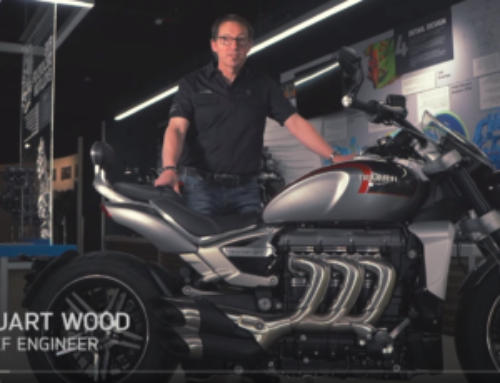 VIDEO: Triumph's Factory Stories kicks off with Rocket 3