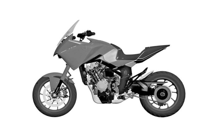 Honda files patent for CB4X CONCEPT Could it be coming for 2021