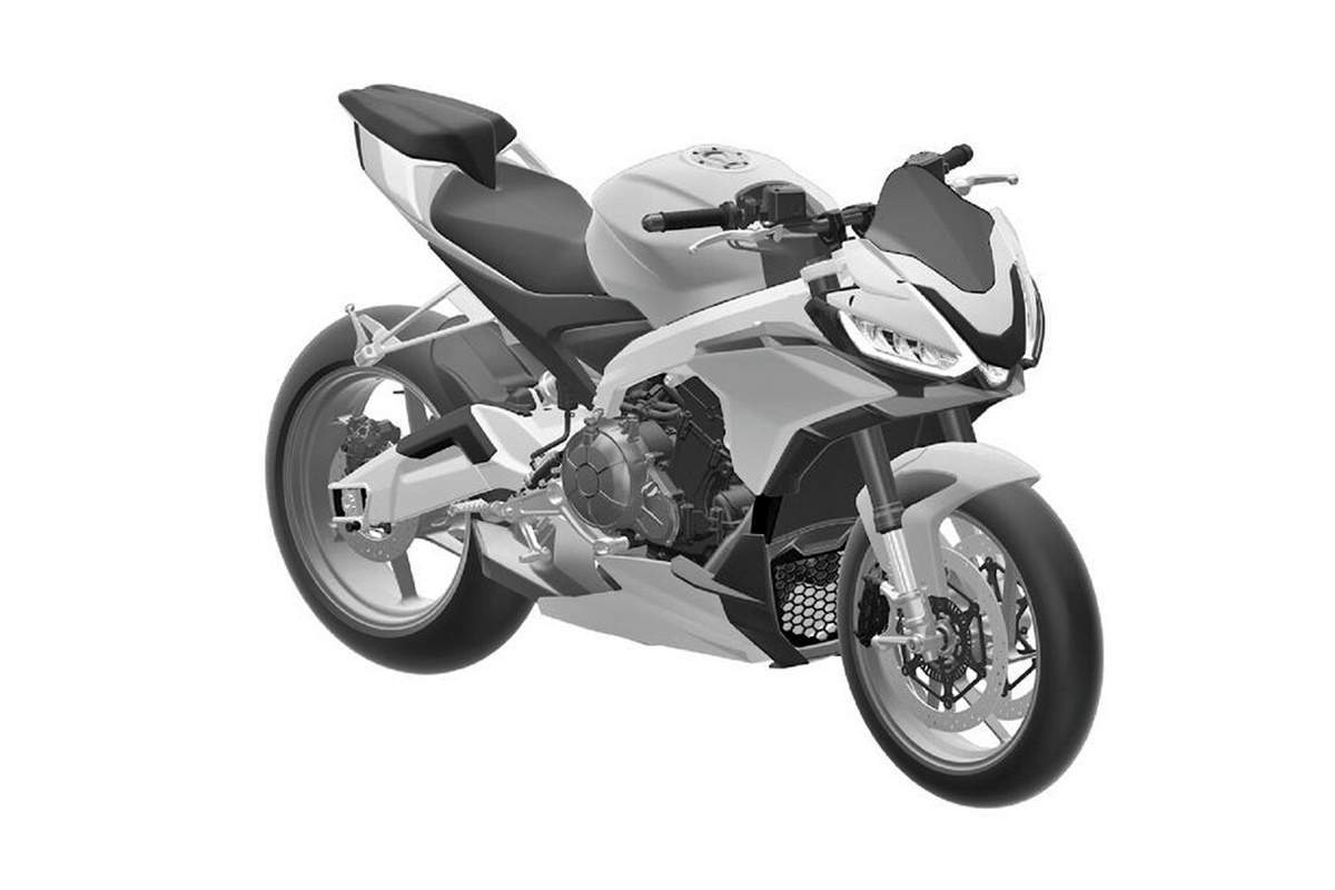 PATENTS Aprilia registers DESIGNS for its baby-Tuono