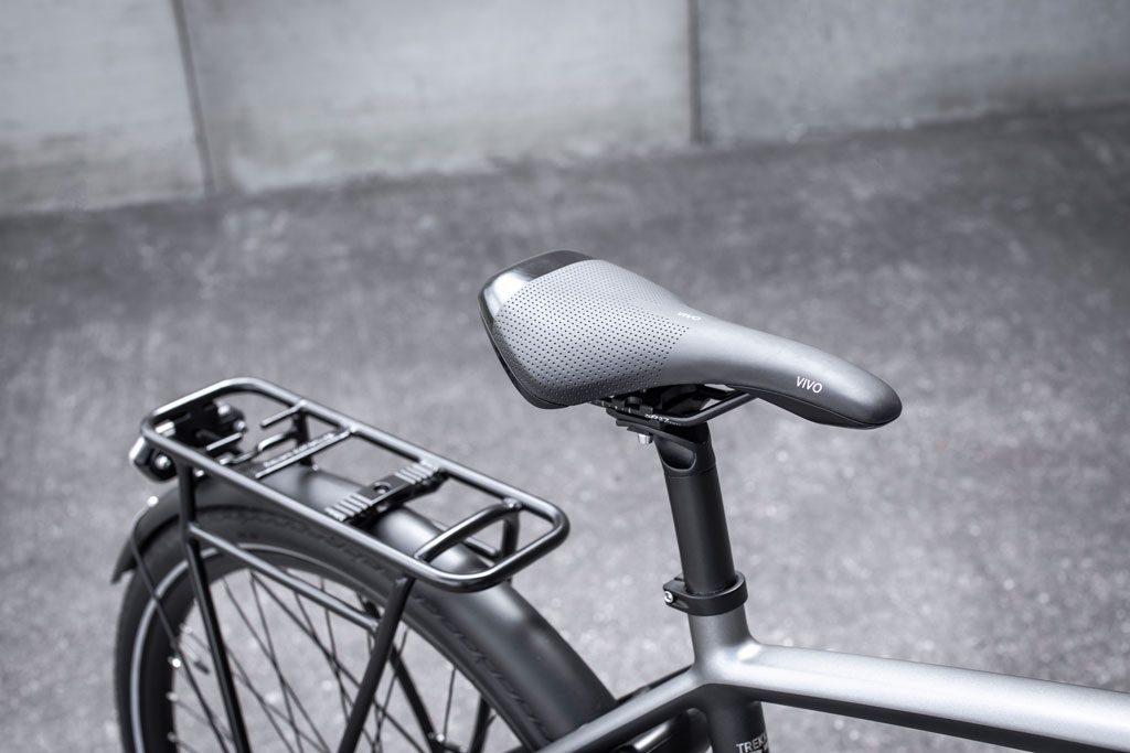 Seat of the Trekker GT E-bike